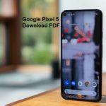 Google Pixel 5 User Guide and Manual PDF Download